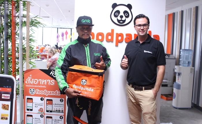 Foodpanda จับมือ Grab ในประเทศไทย มอบบริการฟู้ดเดลิเวอรี่ที่จัดส่งมื้ออร่อยถึงมือลูกค้าได้รวดเร็วยิ่งขึ้น