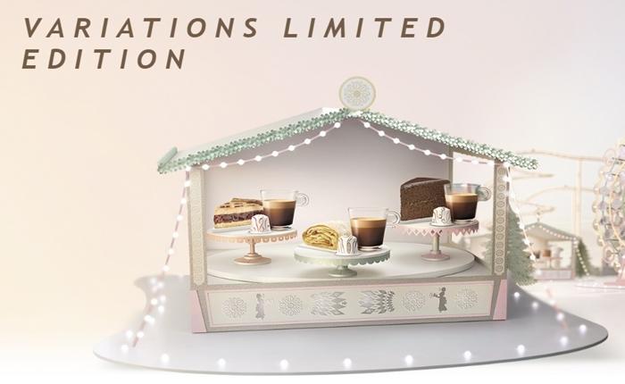 """Variations"" หรูหราสไตล์เวียนนา กาแฟ Limited Edition ส่งท้ายปีจาก Nespresso"