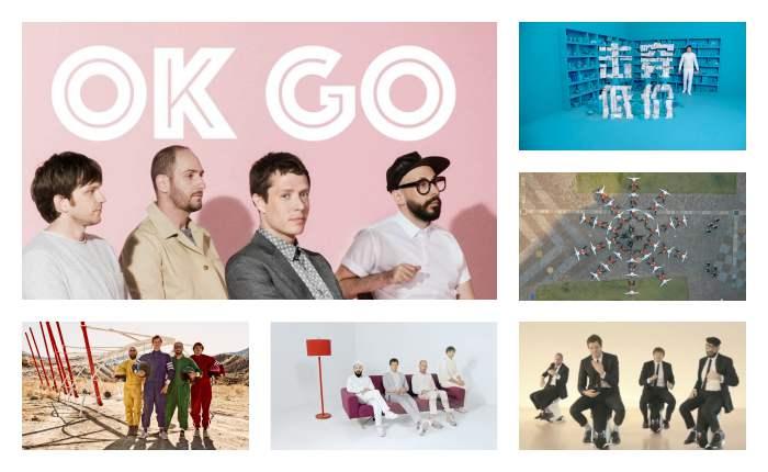 เมื่อ OK Go จับมือกับแบรนด์ต่างๆ งานจะออกมาเป็นอย่างไร?