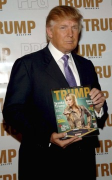 Trump Magazine Celebrates Going Public With Donald And Ivanka Trump