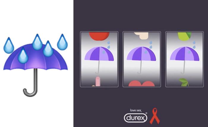 ดูเร็กซ์ส่งอีโมจิใหม่รูปร่มกันฝน กระตุ้นคนให้มีเซ็กส์ที่ปลอดภัยในวันเอดส์โลก