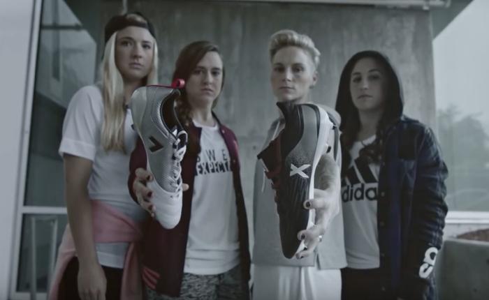 Adidas ส่งโฆษณาเท่ ขายรองเท้าสตั๊ดสำหรับนักบอลหญิงที่เป็นตัวของตัวเองไม่ต้องตามใคร