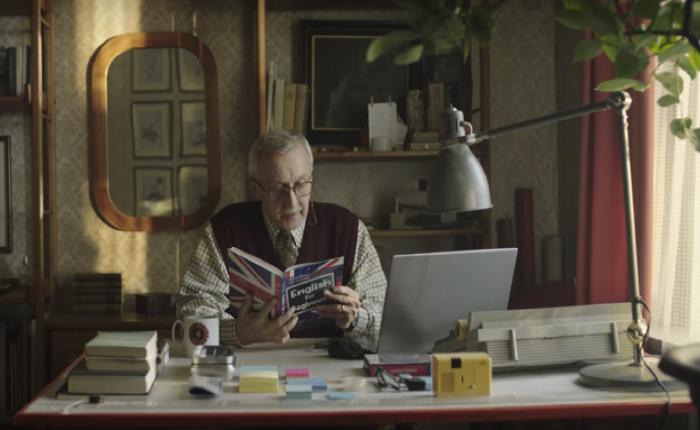 เว็บอี-คอมเมิร์ซทำโฆษณาซึ้ง คนแก่คราวปู่คิดจะฮึดเรียนภาษาที่สองไปทำไมกัน?