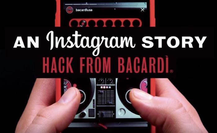 BACARDI เปลี่ยนใครก็ได้ให้เป็นดีเจ โชว์ฝีมือมิกซ์เพลงจากรูปในโปร์ไฟล์ของ instagram