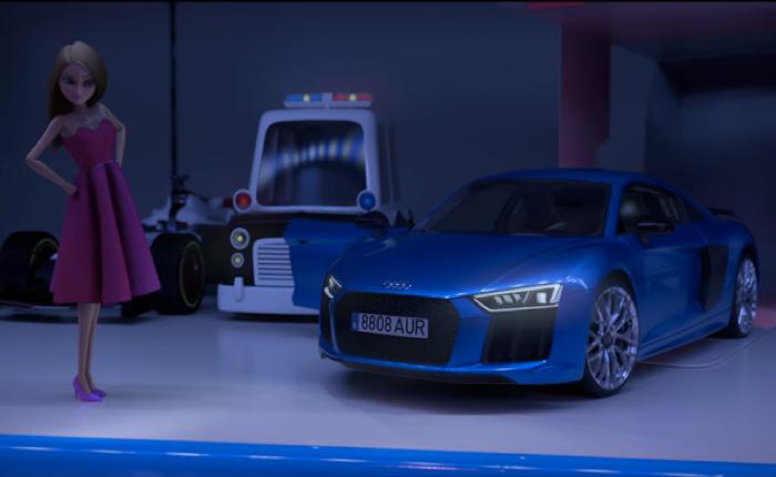 รถ AUDI เปลี่ยนตุ๊กตาบาร์บี้สาวให้เป็นแข่งรถสุดซิ่ง หวังให้กำลังใจๆ เด็กที่ยังไม่แน่ใจว่าตัวเองเป็นเพศไหน