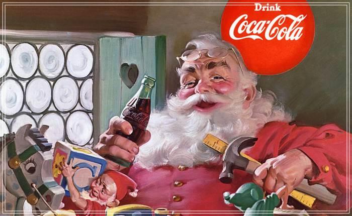 """""""ซานตาคลอสที่เราคุ้นเคย"""" อันที่จริงเป็นคาแรคเตอร์ที่ """"โค้ก"""" ออกแบบไว้เพื่อการโฆษณา"""