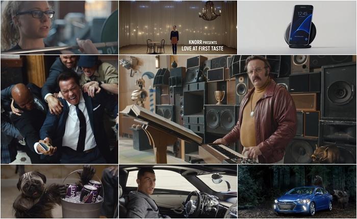 10 สุดยอดโฆษณาที่มียอดเข้าชมสูงทีสุดในปี 2016 จัดอันดับโดย YouTube