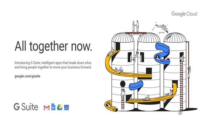 "All Together now. ชวนดู Illustration งามๆ จากแคมเปญเปิดตัวของ Google ""G Suite"""