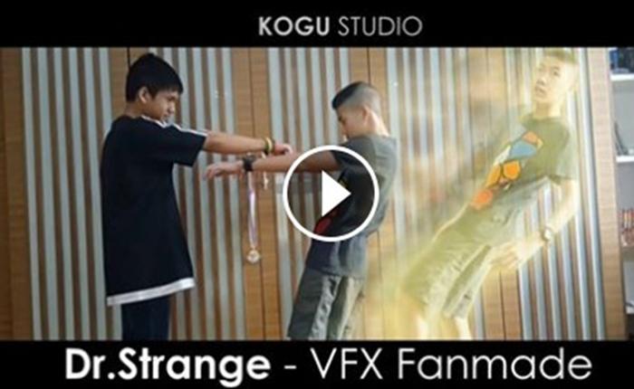 สุดยอด Special effects ผลงานเด็กไทย เลียนแบบ Dr.Strange ชาวเน็ตชื่นชมแห่แชร์กระจาย