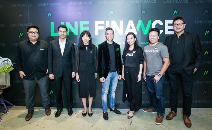 "LINE ผลักดัน FinTech ในไทย เปิดตัว ""LINE FINANCE"""