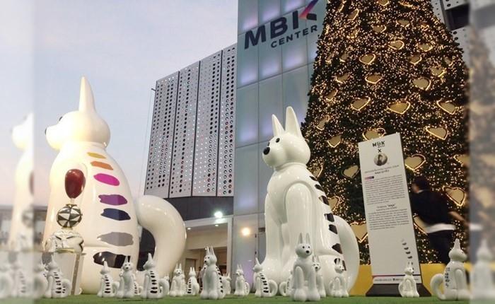 """MBK Center โชว์เก๋! ส่ง """"มาครับ"""" มอบความสุขส่งท้ายปีกับแคมเปญที่ใครก็ต้องหลงรัก"""