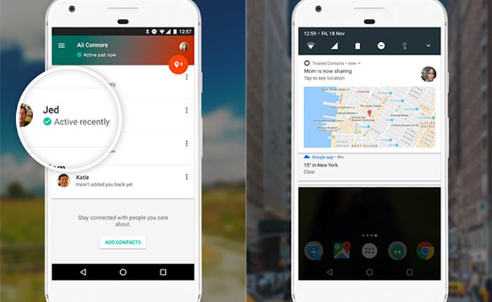 Google เปิดตัวแอปฯ Trusted Contacts เพื่อความปลอดภัยของผู้ใช้ไม่ว่าจะอยู่ที่ไหนก็ตาม