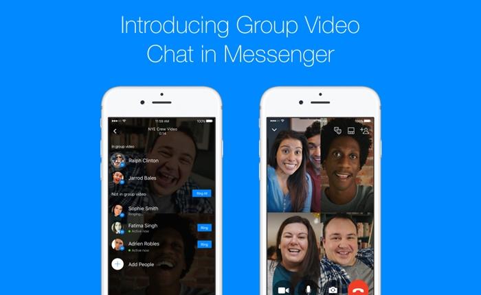 Facebook เปิดให้ผู้ใช้วิดีโอคอลแบบกลุ่มได้แล้วบน Messenger