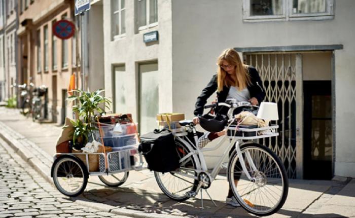 ikea เปิดไลน์สินค้าใหม่ SLADDA ขายจักรยาน+ชุดแต่งครบเซ็ท สำหรับการเดินทางในเมืองโดยเฉพาะ
