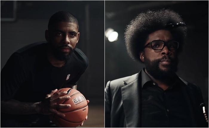 Kyrie Irvin ปะทะ Questlove !! การผสมผสานลีลาบาสเก็ตบอลกับการรัวกลองที่ต้องกดดูซ้ำจากโฆษณาของ Nike