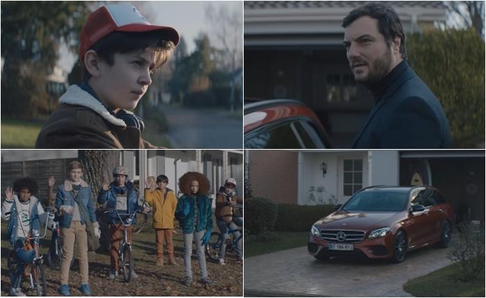 แก๊งเด็กน้อยปั่นจักรยานมาหน้าบ้านชายคนนี้ทุกวันเพื่อดูอะไรกัน?! โฆษณาที่ดูจบแล้วต้องยิ้มจาก Mercedes Benz