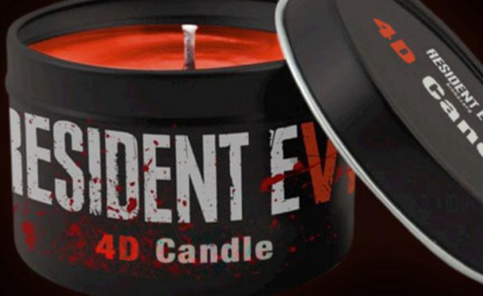 แฟนๆ Resident Evil ต้องไม่พลาด สร้างประสบการณ์เหนือชั้นในแบบ 4D ด้วย เทียนกลิ่นเลือด!