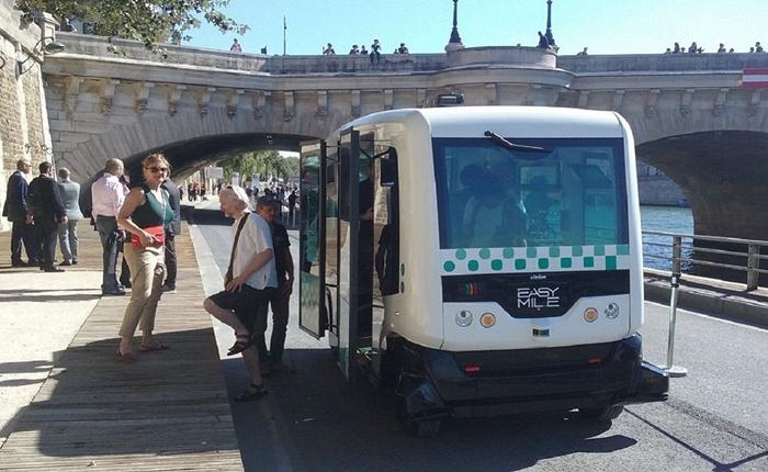 ย่างก้าวแรกของรถขับเคลื่อนอัตโนมัติที่ใช้งานจริงในมหานครปารีส