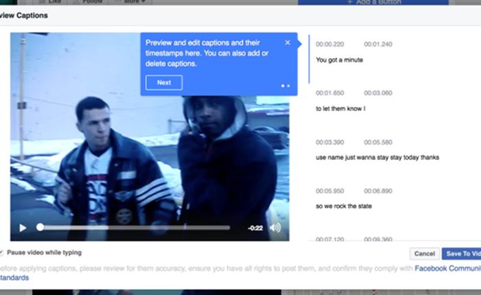 Facebook เปิดตัวระบบออโต้แคปชั่น สำหรับแฟนเพจ