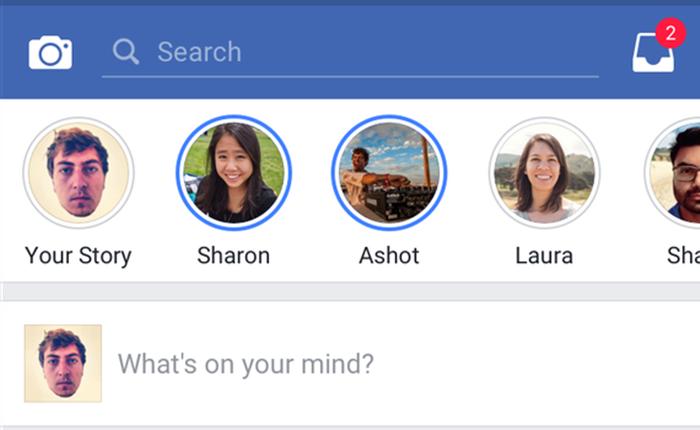 Facebook เริ่มทดสอบฟีเจอร์ Stories แล้ว