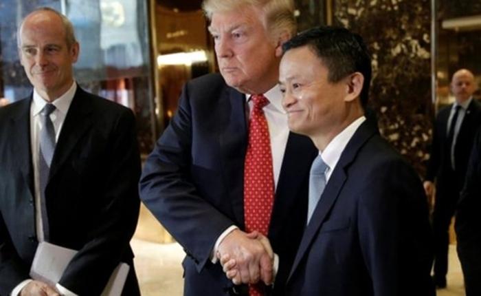 แจ๊ค หม่า หารือ ทรัมป์ ประกาศสร้าง 1 ล้านงานให้คนสหรัฐฯ พร้อมชวนให้นักธุรกิจมาขายของให้คนจีน