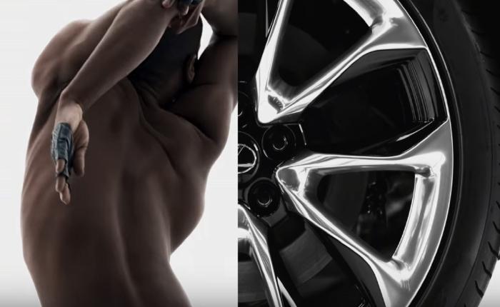 Lexus จัดเต็มส่งโฆษณาดุจงานอาร์ท ผสานมนุษย์และเครื่องยนต์หรูแรงได้ลงตัว!