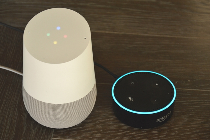 Amazon-Dot-and-Google-Home
