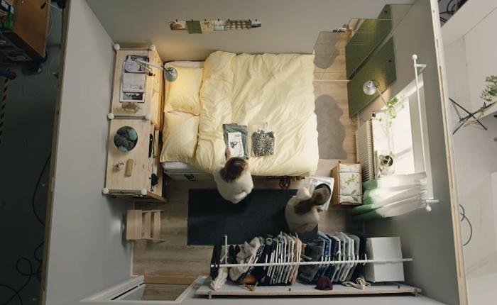 วิธีเปลี่ยนห้องรูหนู ให้เป็นบ้านในฝันแสนน่าอยู่ 4 คลิปวีดีโอสอนจัดห้องที่น่ารักและเข้าใจง่ายมาก ๆ จาก IKEA