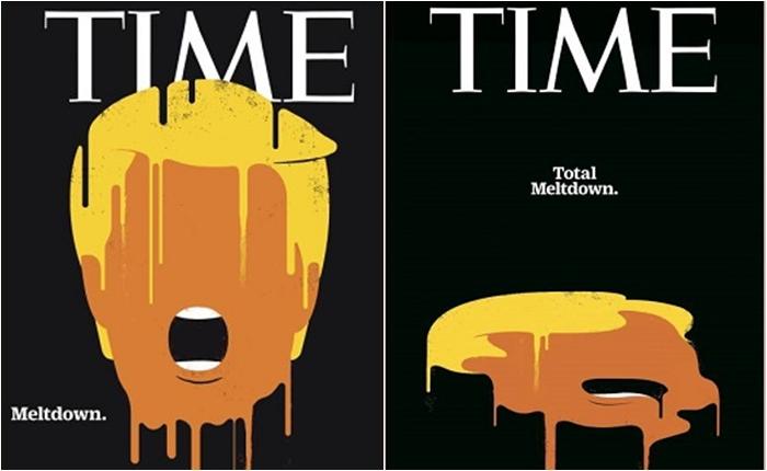 """เสียดสีจนได้เรื่อง !! ชวนดูภาพวาดปกนิตยสารสุดแสบ ที่คว้ารางวัล """"Cover of The Year"""" จากประเทศอเมริกาและเยอรมนี"""