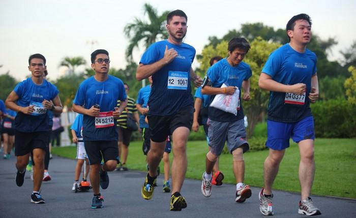 มีนัดวิ่งกัน วันอาทิตย์ที่ 5 มีนาคม เวลา 4:30 น.ในกิจกรรม ทีเอ็มบี ไอเอ็นจี พาร์ครัน