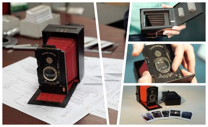 """กล้องกระดาษ """"Vintage Instant Camera"""" ใช้งานได้จริง โปรเจคสุดคูลจาก Kickstarter"""