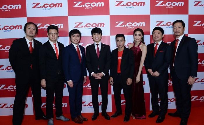 "GMO Internet Group ทุ่มงบลงทุนกับ NetDesign Group เปิดตัว ""Z.com"" ครั้งแรกในไทย"