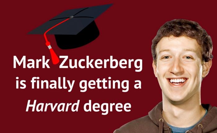 """ยินดีกับ """"มาร์ค ซักเกอร์เบิร์ค"""" จบเกียรตินิยมจาก Harvard แล้ว!"""