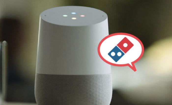 พิซซ่า Domino's ล้ำหน้าเสมอ ล่าสุดสั่งพิซซ่า-ติดตามออเดอร์ ผ่าน Google Home ได้แล้ว