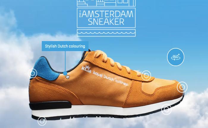 สายการบิน KLM มาแปลกแจกรองเท้ากีฬา Limited Edition ชวนคนเดินเที่ยวทั่วเมืองอัมสเตอร์ดัม