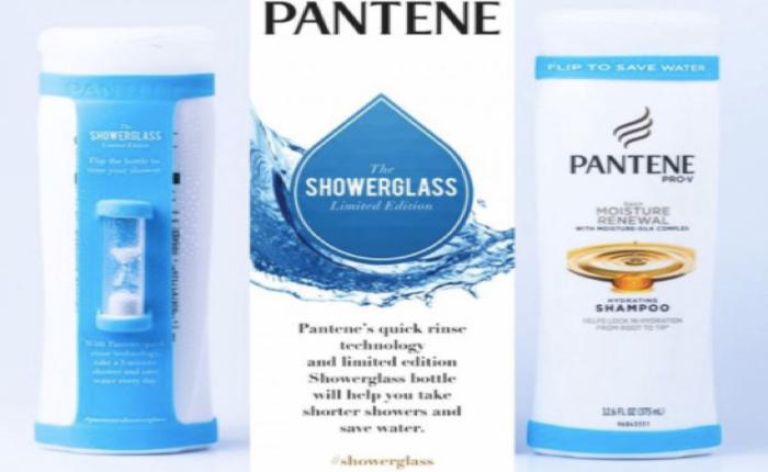 แพนทีนติดนาฬิกาทรายข้างขวดแชมพูจับเวลาอาบน้ำ ยิ่งสั้น ยิ่งช่วยรักษ์โลก