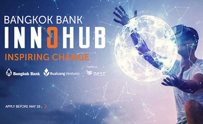 ธนาคารกรุงเทพ จับมือ 'เนสท์' ค้นหาสตาร์ทอัพกลุ่มฟินเทคจากทุกมุมโลก เปิดตัว 'Bangkok Bank InnoHub' หวังไทยเป็นประตูสู่อาเซียน