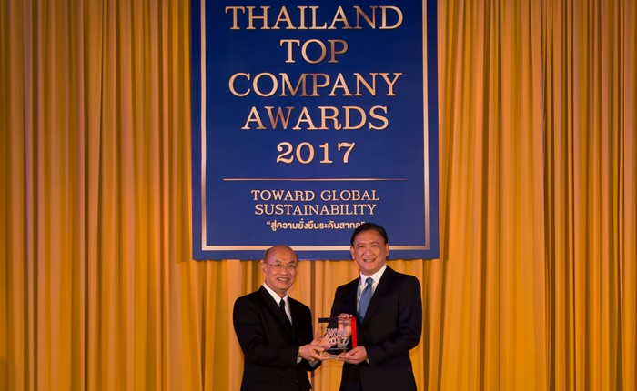 กรุงเทพประกันชีวิต คว้ารางวัลสุดยอดองค์กรแห่งปี Thailand Top Company Awards 2017