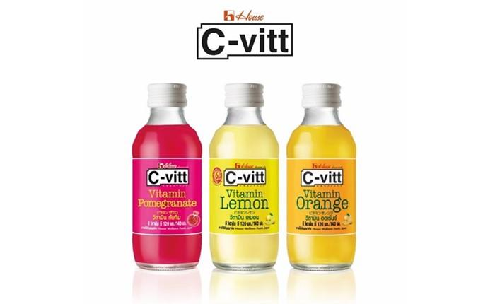 """""""เครื่องดื่มวิตามินซี 200%"""" C-vitt ดันศักยภาพผลิตภัณฑ์ สร้างความแตกต่างในสนาม Functional Drink"""