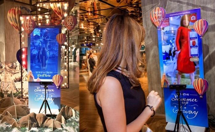ห้างฯ เซ็นทรัล สร้างประสบการณ์สุดว้าวให้กับการช้อปปิ้งด้วย Interactive fitting room ที่แฟชั่นนิสต้าตัวจริงต้องไม่พลาด!