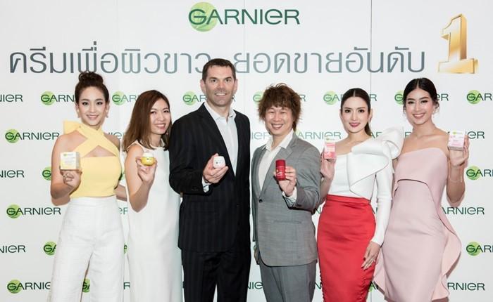 การ์นิเย่ตอกย้ำความเป็นผู้นำตลาดผลิตภัณฑ์เพื่อผิวกระจ่างใสอันดับ 1 ของไทย จัดงานขอบคุณเหล่าพันธมิตรคู่ค้าปลีกรายใหญ่ทั่วประเทศ