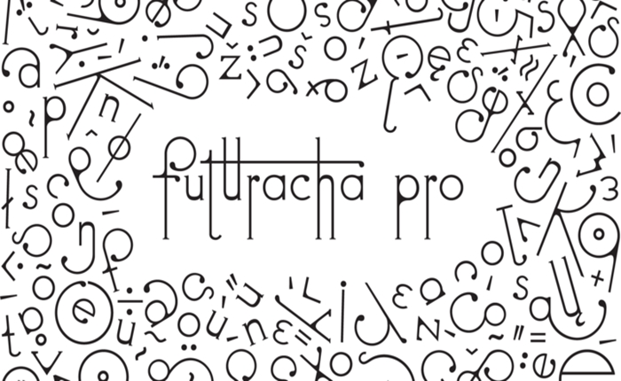 """สร้างงานดีไซน์ให้ล้ำได้อีก!!  ด้วยฟอนต์แปลงร่าง """"Futuracha Pro"""" ที่ได้รับแรงบันดาลใจมาจากแมลงสาบ"""