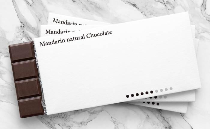 'Mandarin natural Chocolate' ตัวอย่างงานออกแบบบรรจุภัณฑ์สไตล์มินิมอลที่ยอดเยี่ยม จากดีไซเนอร์ชาวญี่ปุ่น