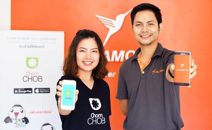 Lalamove จับมือ ChomCHOB ตอบโจทย์ลูกค้า รับรหัสส่วนลดค่าขนส่ง