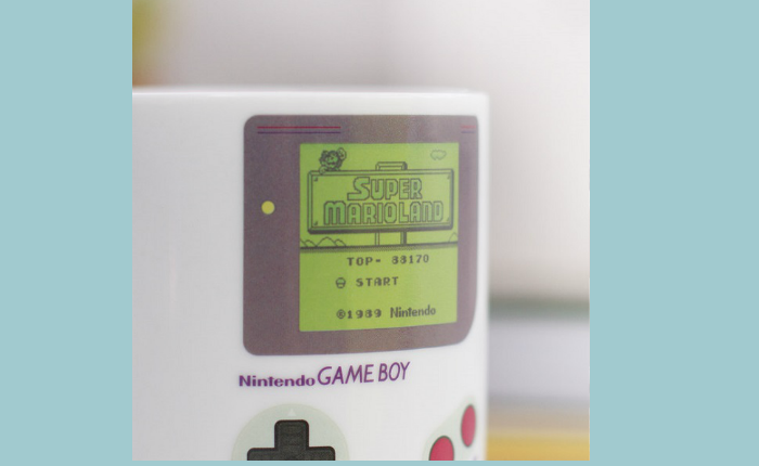 รำลึก Game Boy ผ่านถ้วย Mug สุดเก๋ ที่ Switch On แล้วเป็นเกมมาริโอ้