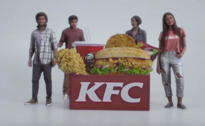 KFC อินเดียแจกหุ่นจิ๋ว 3D printing สุดเหมือนจริงให้ลูกค้า 50 คนแรกที่ออเดอร์เมนูใหม่ 5-in-1