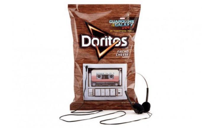 มันฝรั่ง Doritos ส่งถุงขนมไฮเทค เสียบหูฟัง ก็ฟังเพลงซาวน์แทรคหนังดัง Guardians of the Galaxy Vol. 2 ได้เลย