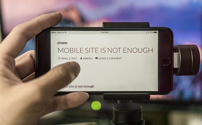 แค่ Mobile site อาจไม่พอ?