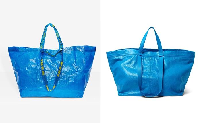 การโต้ตอบแบบน่ารัก ๆ ของ IKEA เมื่อ Balenciaga ออกกระเป๋าหรูรุ่นใหม่ที่เหมือนกับถุงช็อปปิ้งของ IKEA แบบเด๊ะ ๆ