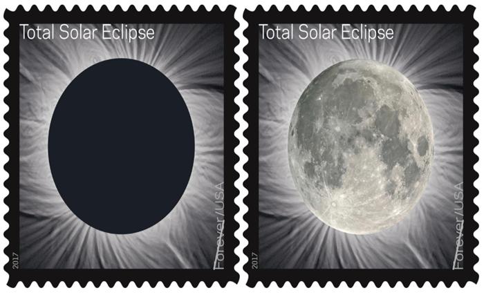 สุดเท่! Forever stamp ผลิตแสตมป์ที่สามารถเปลี่ยนรูป จาก 'จันทรุปราคา' เป็น จันทร์เต็มดวงสดใส เพียงแค่เอานิ้วถู ๆ